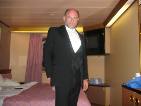 In  Stateroom - Ok, how often do I wear a tux? - Had to show it!